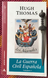 Portada del libro La Guerra Civil Española, de Hugh Thomas