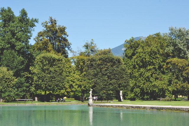 Schloss Hellbrunn Garten Salzburg