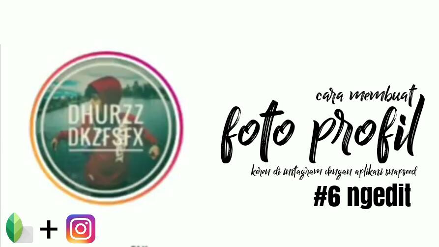 Cara Membuat Foto Profil Instagram Keren Dar Tv Blog