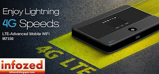 4G LTE Advanced Mobile WiFi M7350