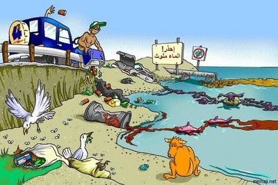 مصادر الرئيسية لتلوث المياه