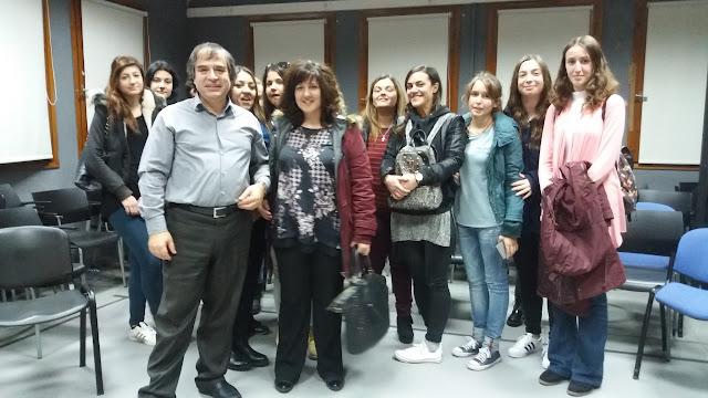 Εκπαιδευτική επίσκεψη του ΔΙΕΚ Ναυπλίου στο τμήμα Θεατρικών σπουδών