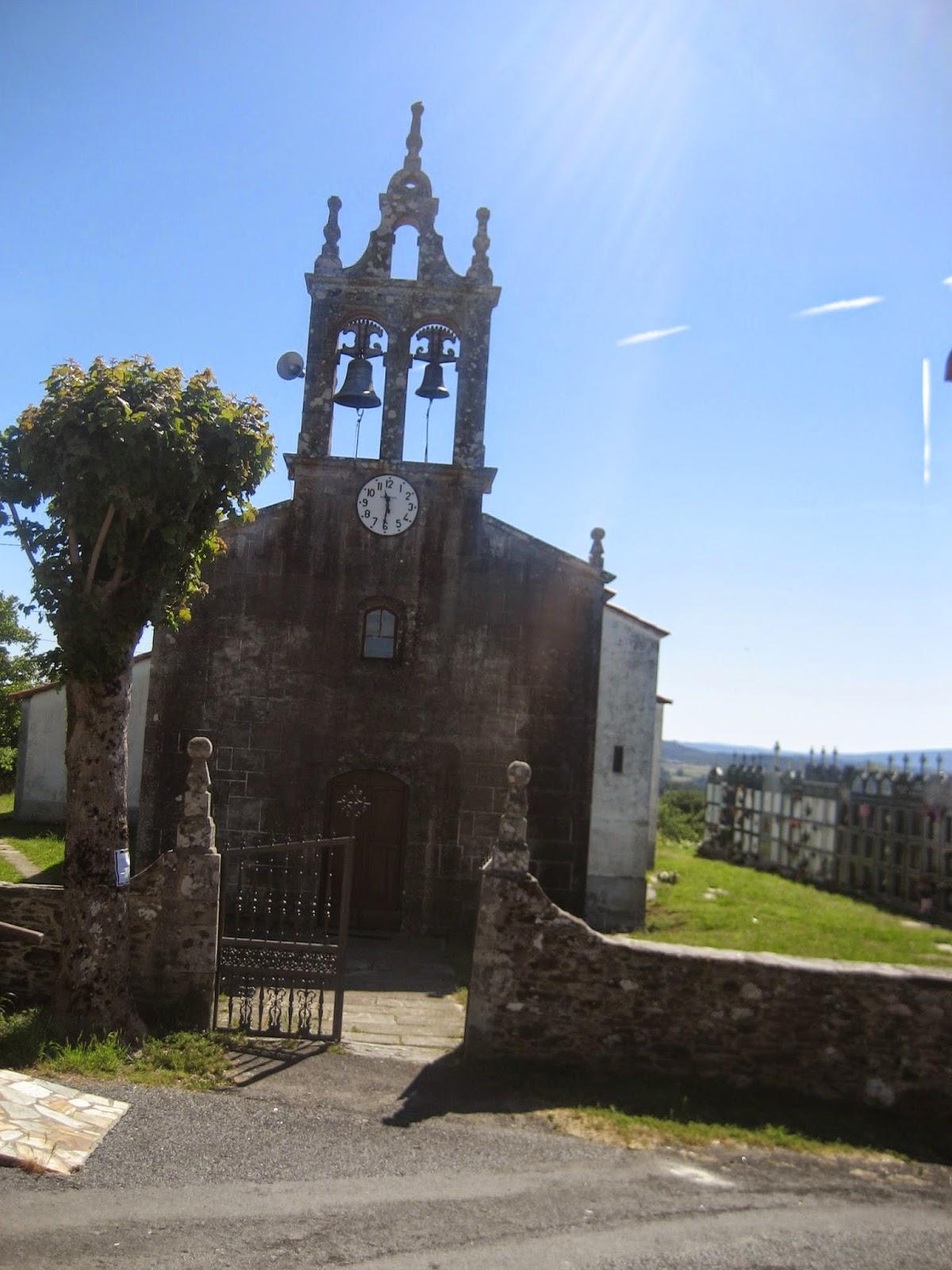 Iglesia de San Xoán de Visantoña en Santiso