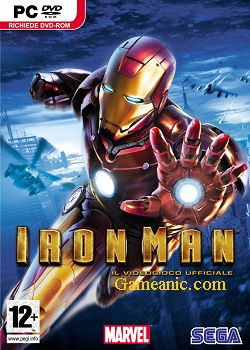 Iron Man 1 Game Cover