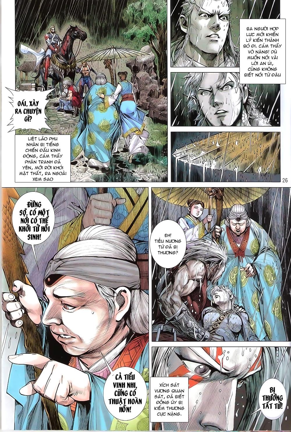 Thiết Tướng Tung Hoành Chap 170