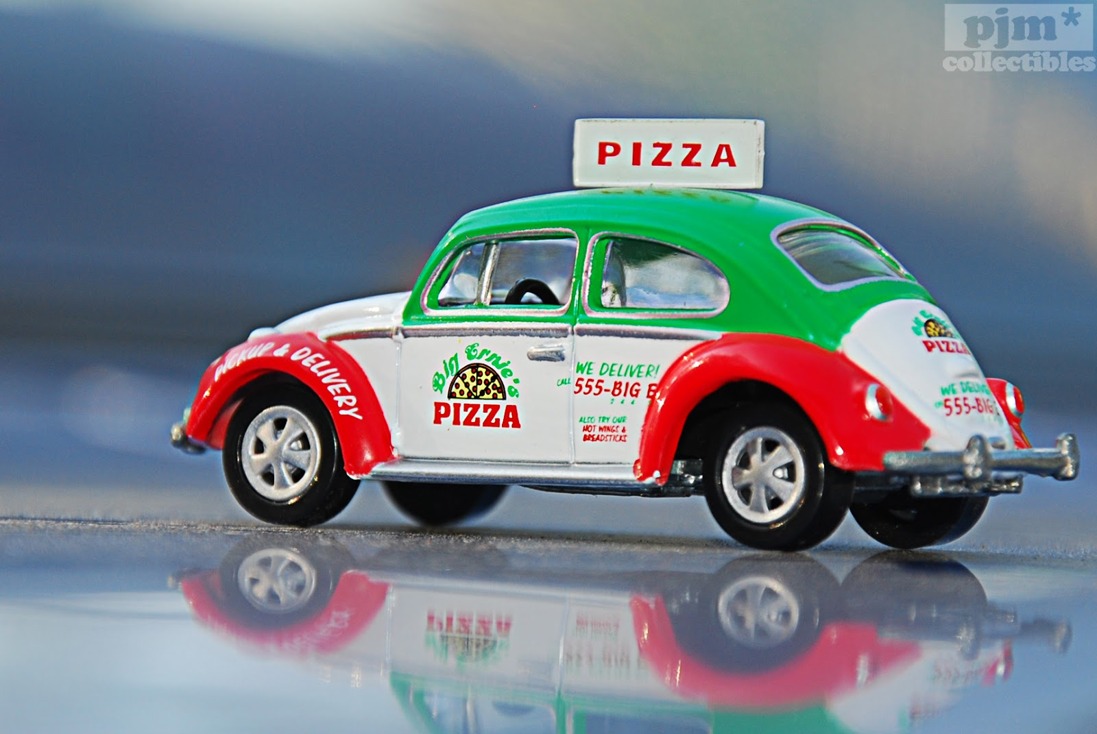 Toy Pizza Delivery Car 5