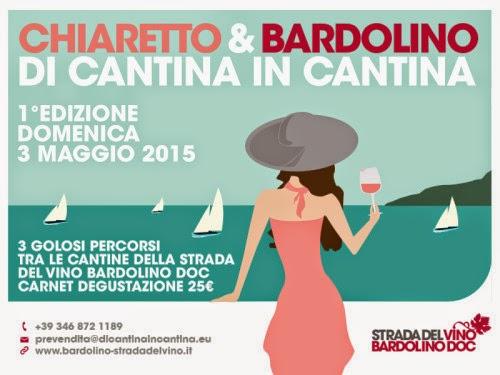 Di Cantina in Cantina Chiaretto & Bardolibo 3 Maggio Bardolino (VR)