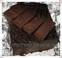 Best Recipe Collection For Food Lovers Kek Kukus Horlick Hitam Manis