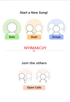 Start New Song SMULE - NYIMAKCUY