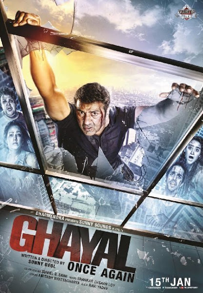 Poster Of Ghayal Once Again 2016 720p Hindi BRRip Full Movie Download