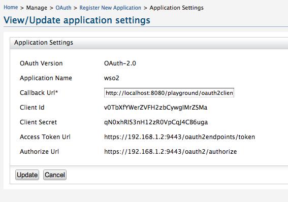 OAuth 2 0 Playground with WSO2 Identity Server - DZone
