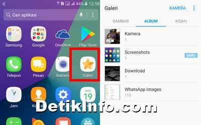Cara Ubah Wallpaper Layar Terkunci Dan Beranda Android Samsung Detik Info