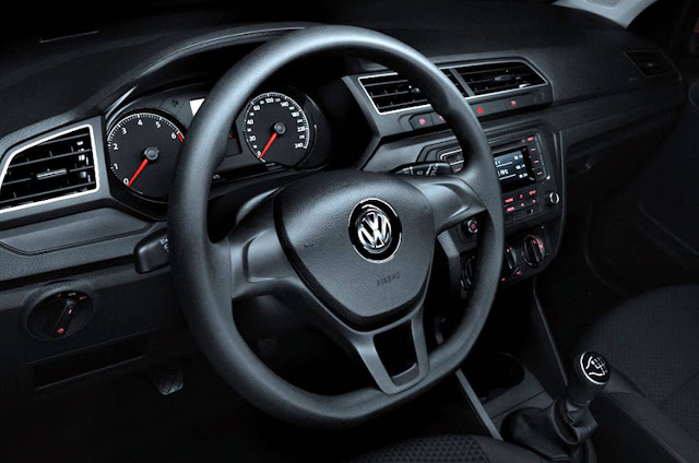 VW Gol 1.0 Trendline 2017 - interior