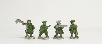 WSS Marlburian Dismounted Dragoons: