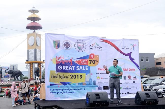 Geliatkan Perekonomian Pasca Tsunami, Pemprov Lampung Gelar Hotel Great Sale