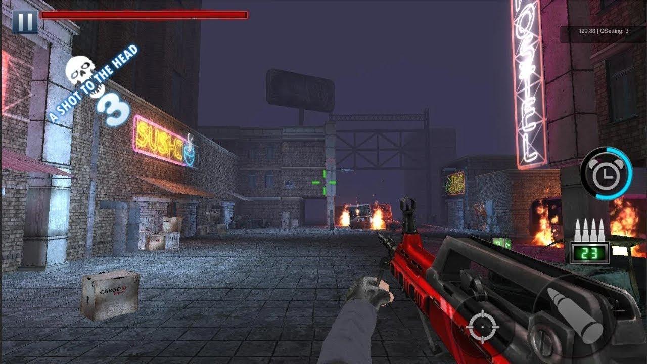 تحميل لعبة zombie hunter