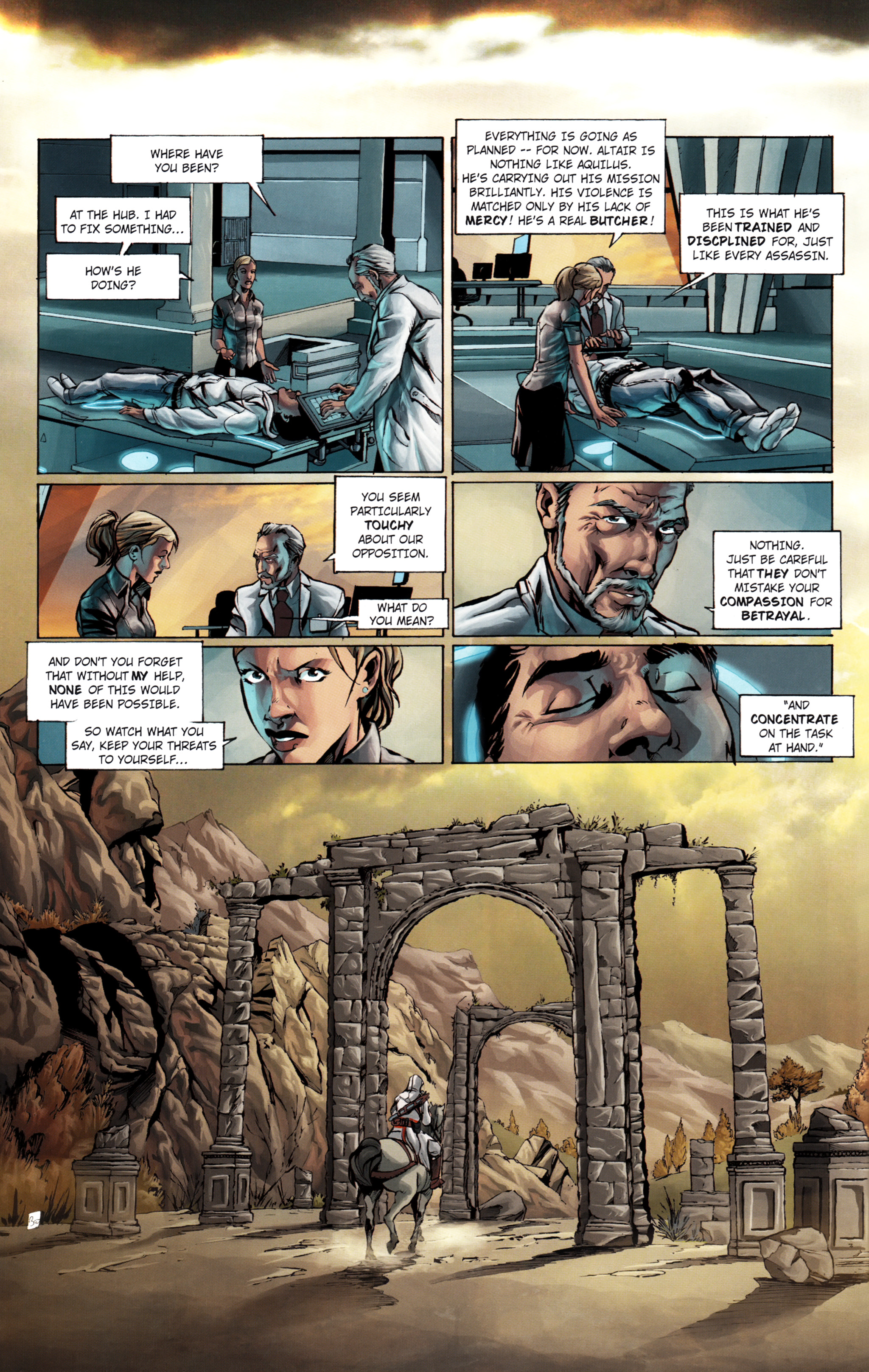 Read online Assassin's Creed (2012) comic -  Issue #1 - 36