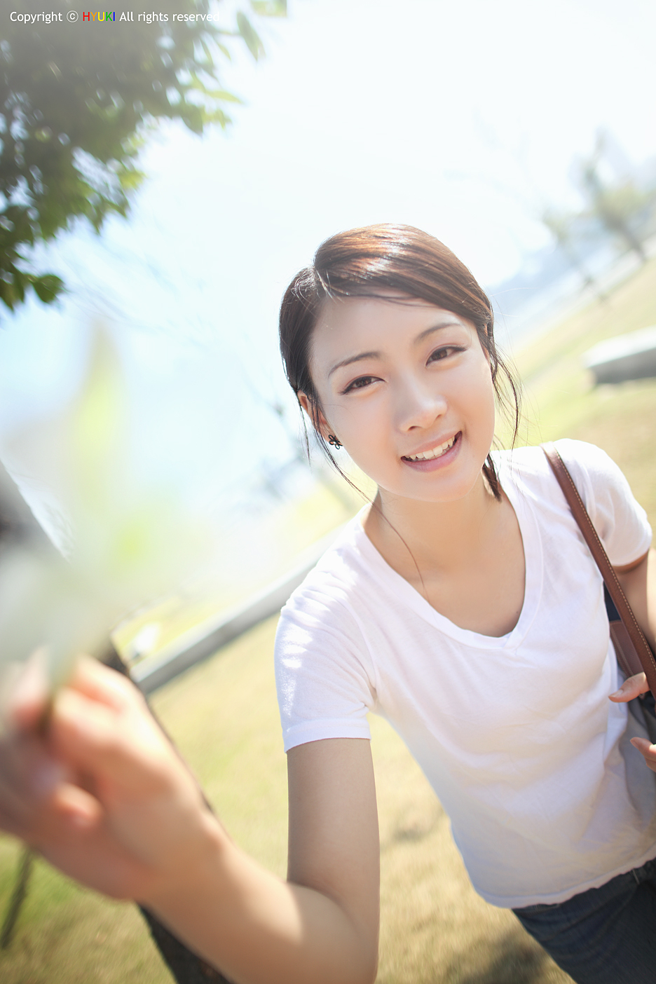 Lovely outdoor korean girl asia cantik blog - Korean girl picture ...