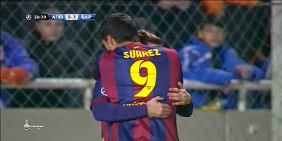 UEFA Group F: Apoel 0 vs 4 Barcelona 25-11-2014