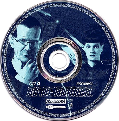 Blade Runner PC CD 4