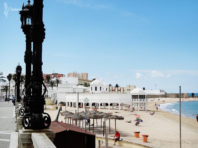 Kadyks, plaża la caleta