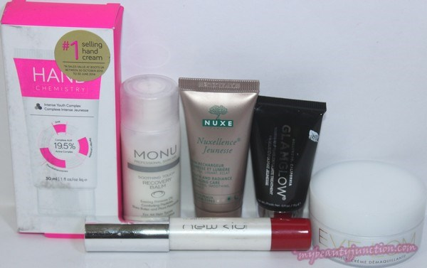 LookFantastic beauty box November 2014 unboxing