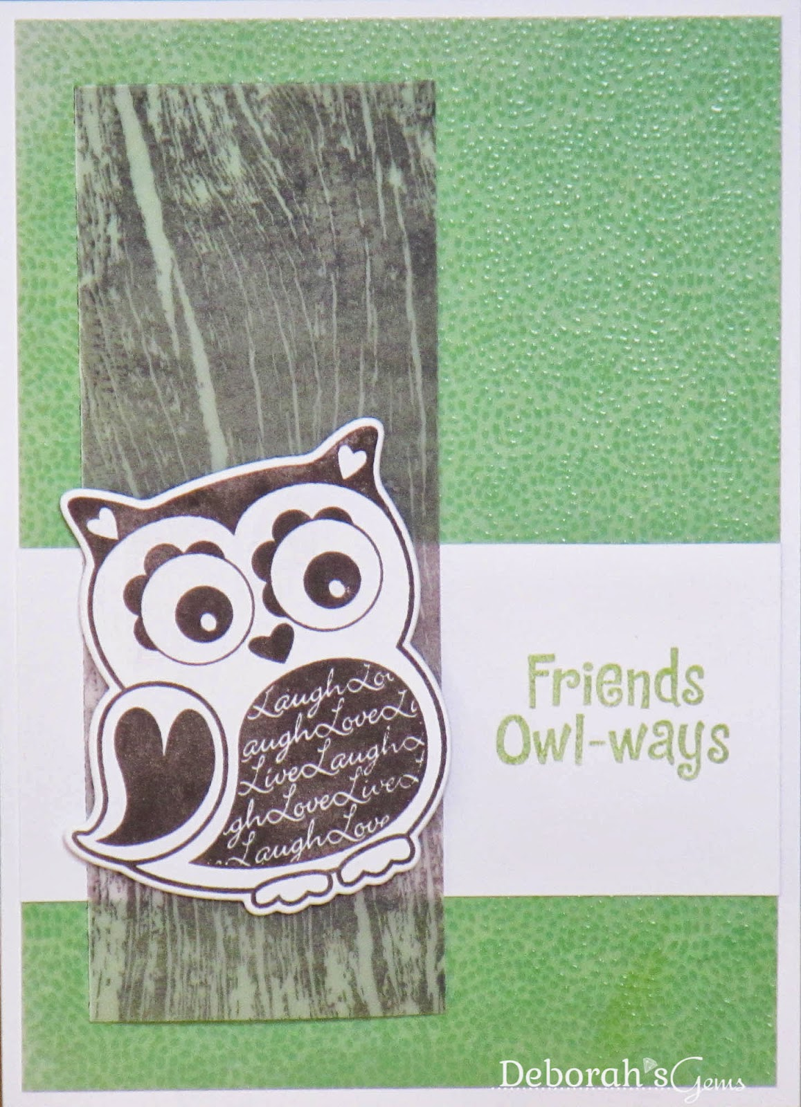 Friends Owl-ways - photo by Deborah Frings - Deborah's Gems