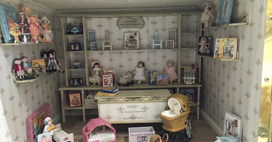 Gamages Doll Shop Is Open For Business.....