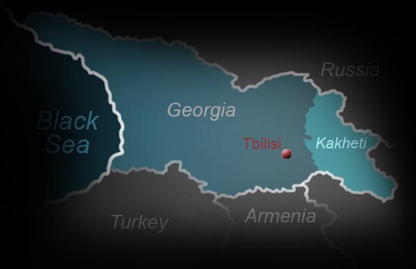 Map Of Kakheti Georgia.Hanna Erkki Tamsalu Travelogue Georgia David Gareji Sighnaghi
