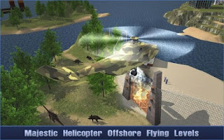 Game Offshore Oil Helicopter Cargo App