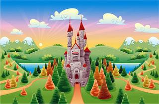 Замок из сказки фото