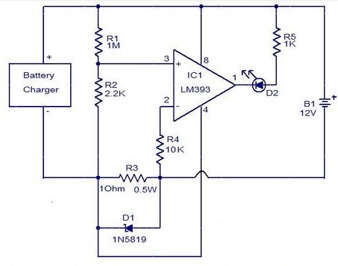 schema electronique gratuit montage circuit indicateur de. Black Bedroom Furniture Sets. Home Design Ideas