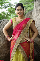 Actress Ronika in Red Saree ~  Exclusive celebrities galleries 029.JPG