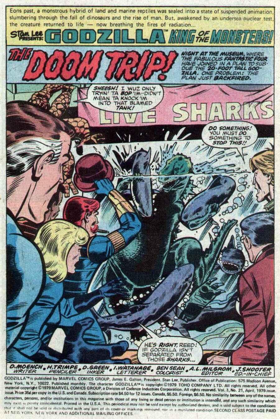 Godzilla (1977) Issue #21 #21 - English 2