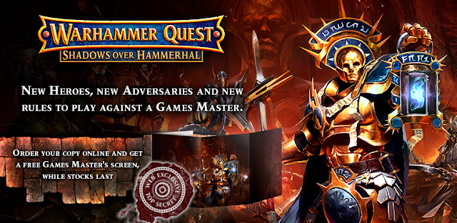 Games Workshop: New Warhammer Quest Shadows Over Hammerhal