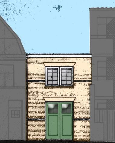 bouwtekening gevel molenstraat 21 utrecht