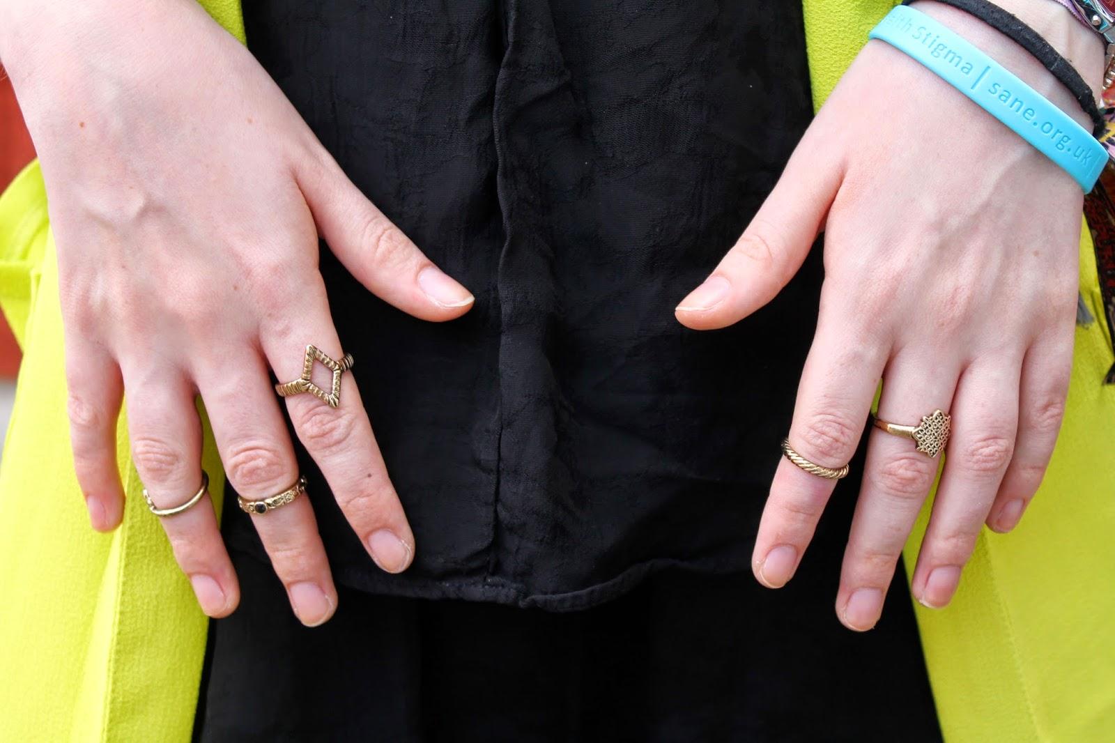 primark ring stack, primark jewellery september 2014