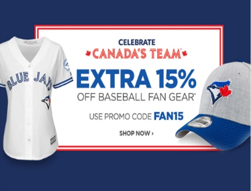 The Shopping Channel 15% Off Baseball Fan Gear Promo Code