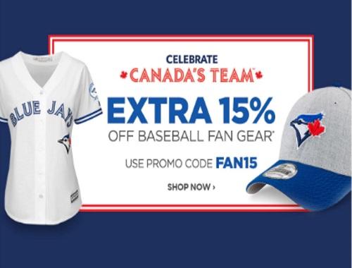 The Shopping Channel 15% Off Baseball Fan Gear Promo Code