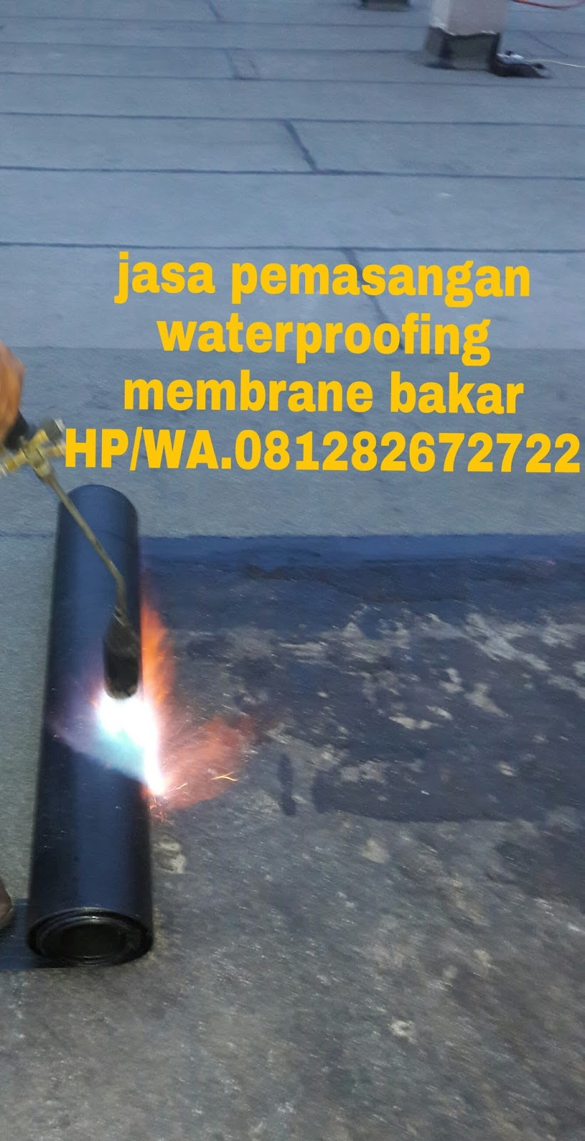 Jasa Pemasangan Waterproofing Membran Bakar