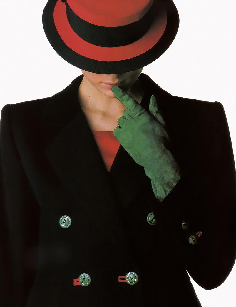 Yves Saint Laurent in Elle France August 1986 via www.fashionedbylove.co.uk
