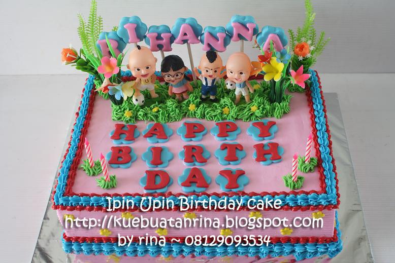 Masama Cakes Upin Ipin Birthday Cake For Rihanna