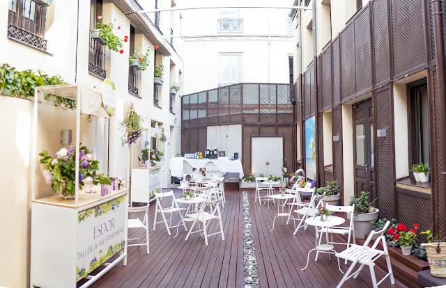 Hotel Hospes Madrid terraza