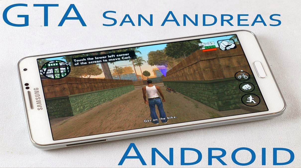 grand theft auto san andreas android free softwares