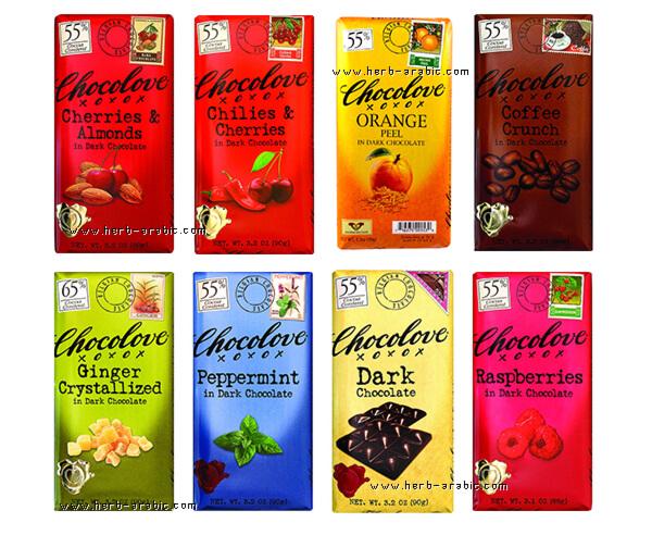 انواع الشوكولاتة الداكنة من شوكولوف