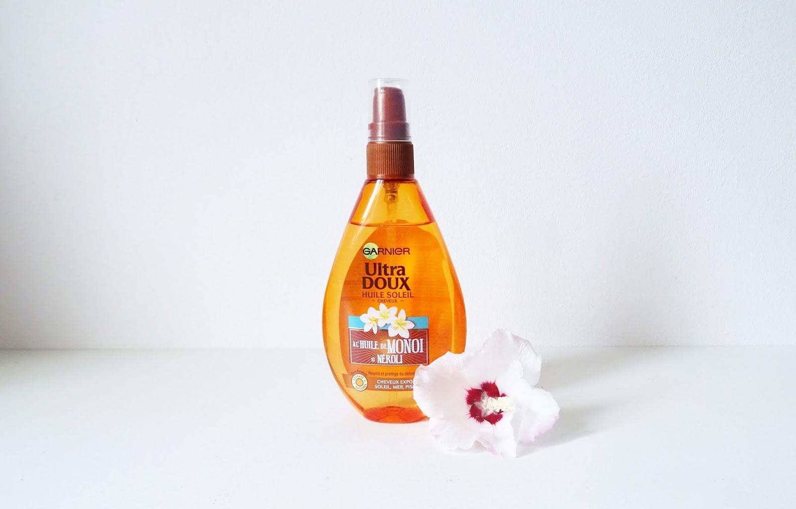 Huile soleil Garnier à l'huile de Monoï et Néroli