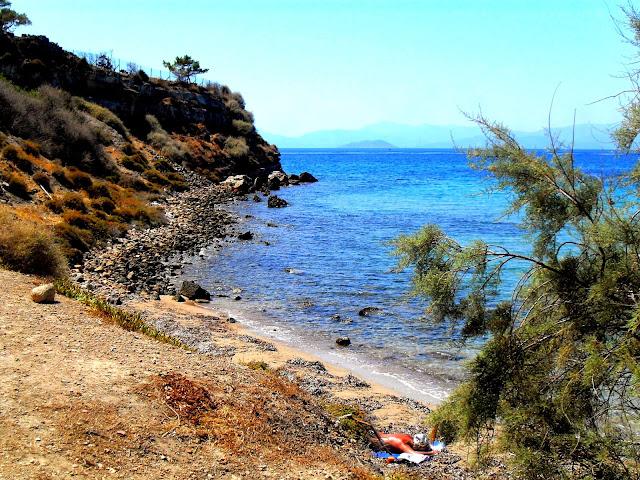 playa isla griega