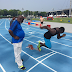 Checkout Usain Bolt and his Coach Glen Mills