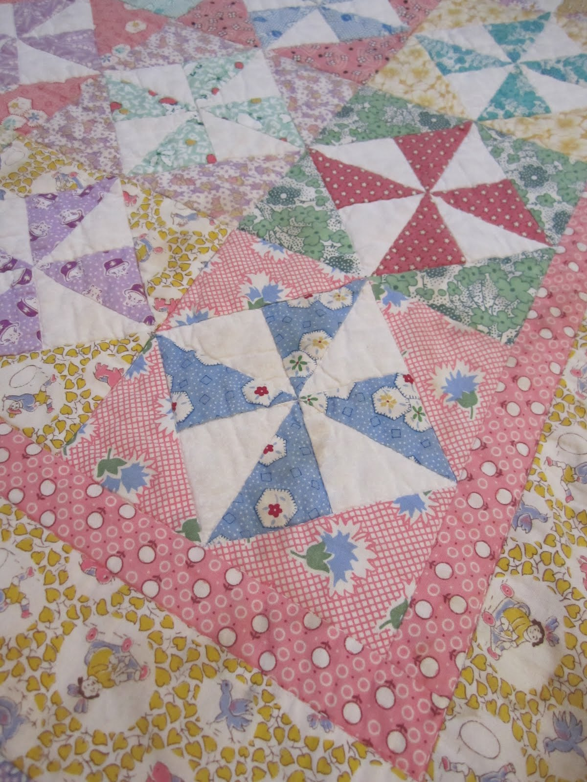 Wendys Hat Pinwheel Quilt Sewing