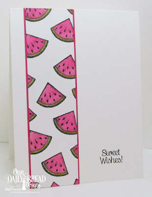 ODBD Thanks a Melon, Card Designer Angie Crockett